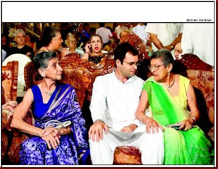 Rahul Connects With His Paternal Roots